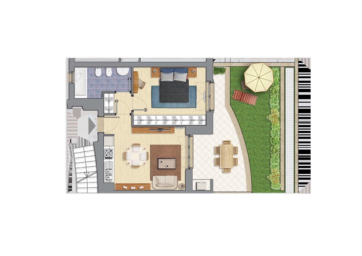 Immobili in vendita a Settebagni | Classe energetica A | €114.000