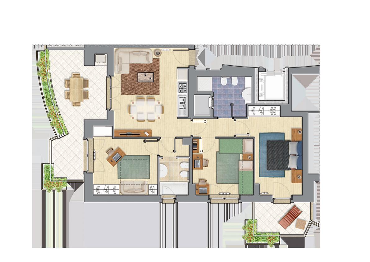 Casa a Settebagni | Classe energetica A | €298.000