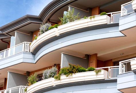 Agenzia immobiliare Roma nord - Terrazzi palazzina
