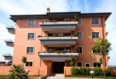 Agenzia immobiliare Roma nord - Vista frontale palazzina